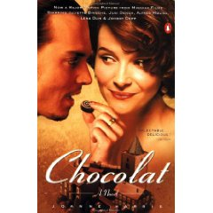 Chocolat Movie Tie-In Cover